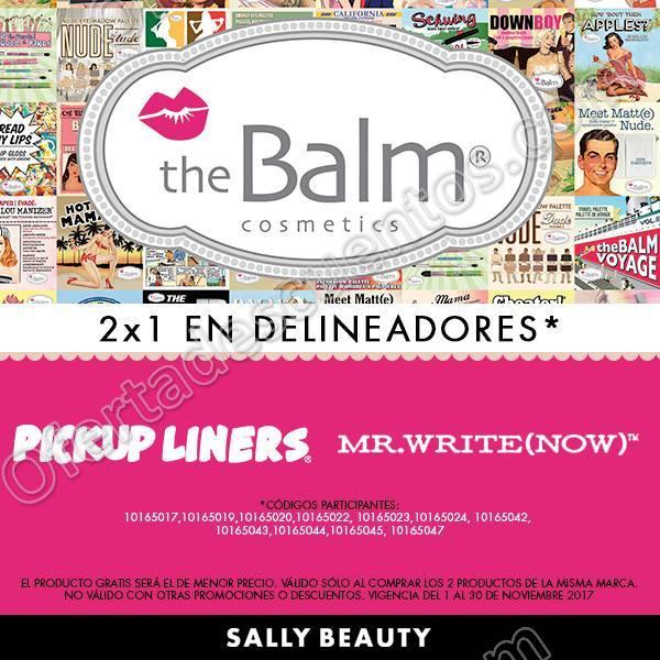 Sally Beauty: 2×1 en Delineadores del 1 al 30 de Noviembre 2017