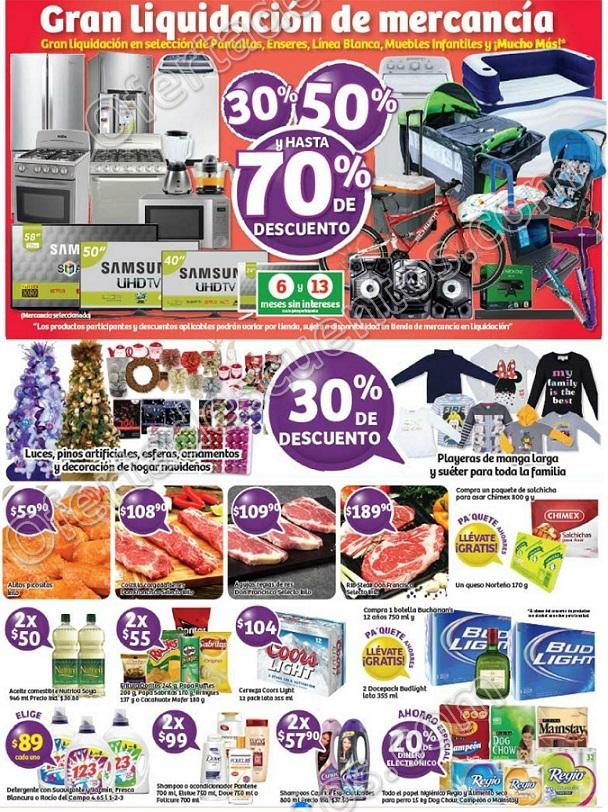 Soriana: Promociones de Fin de Semana del 24 al 27 de Noviembre Gran Liquidación de Mercancía