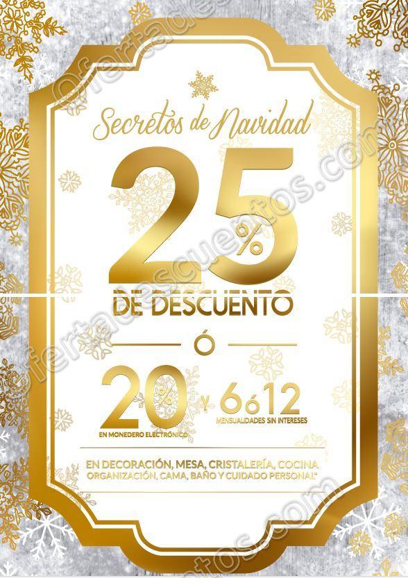 The Home Store: Secretos de Navidad 25% de descuento del 2 al 29 de Noviembre 2017