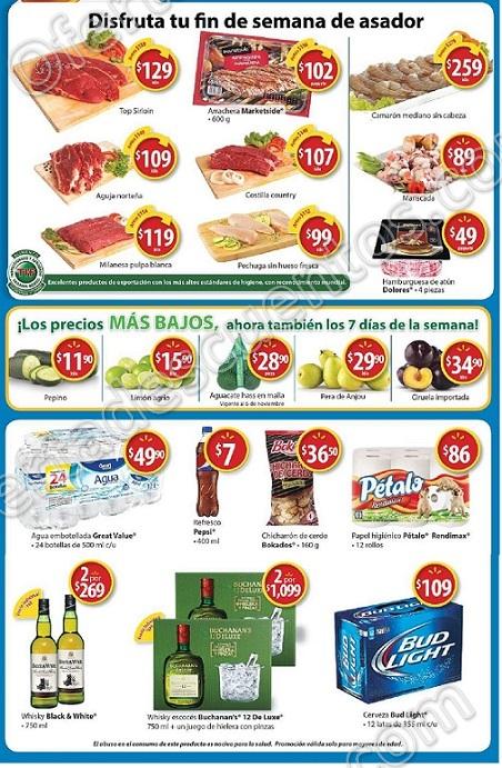 Walmart: Fin de Semana de Asador Ofertas Carnes, Frutas, Verduras y más al 5 de noviembre