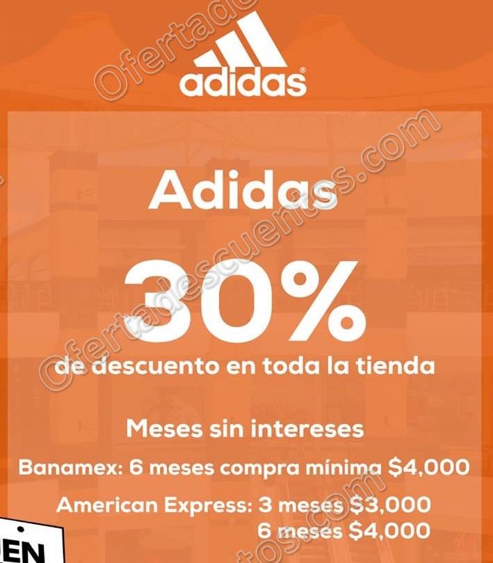 El Buen Fin 2017 Adidas: 30% de Descuento en Toda la Tienda