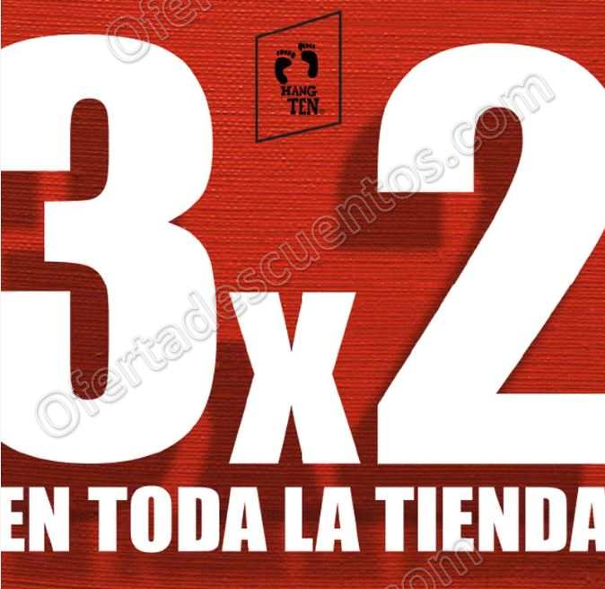 El Buen Fin 2017 Hang Ten: 3×2 en Toda la Tienda