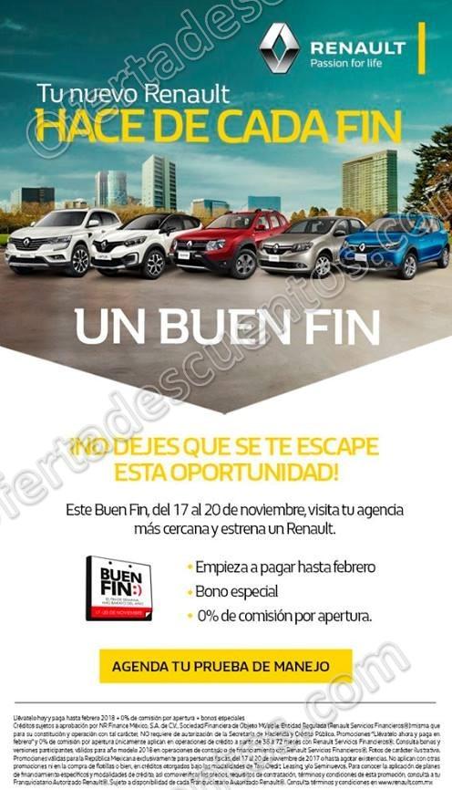 El Buen Fin 2017 Renault