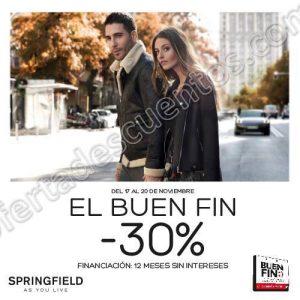 El Buen Fin 2017 Springfield: 30% de Descuento