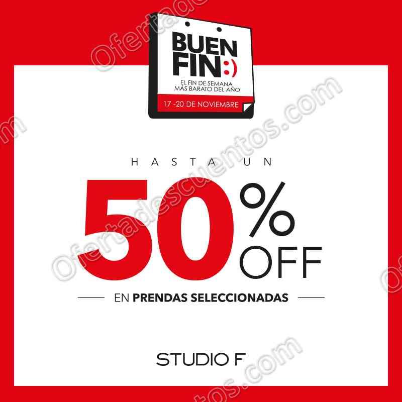 El Buen Fin 2017 Studio F: Hasta 50% de Descuento