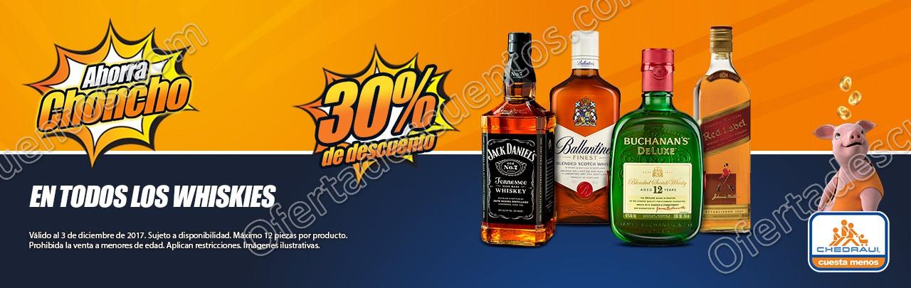 Chedraui Online: 30% de descuento en Whiskys y más