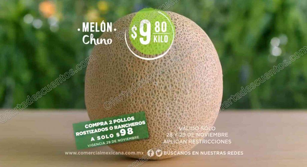 Comercial Mexicana: Frutas y Verduras del Campo 28 y 29 de Noviembre de 2017