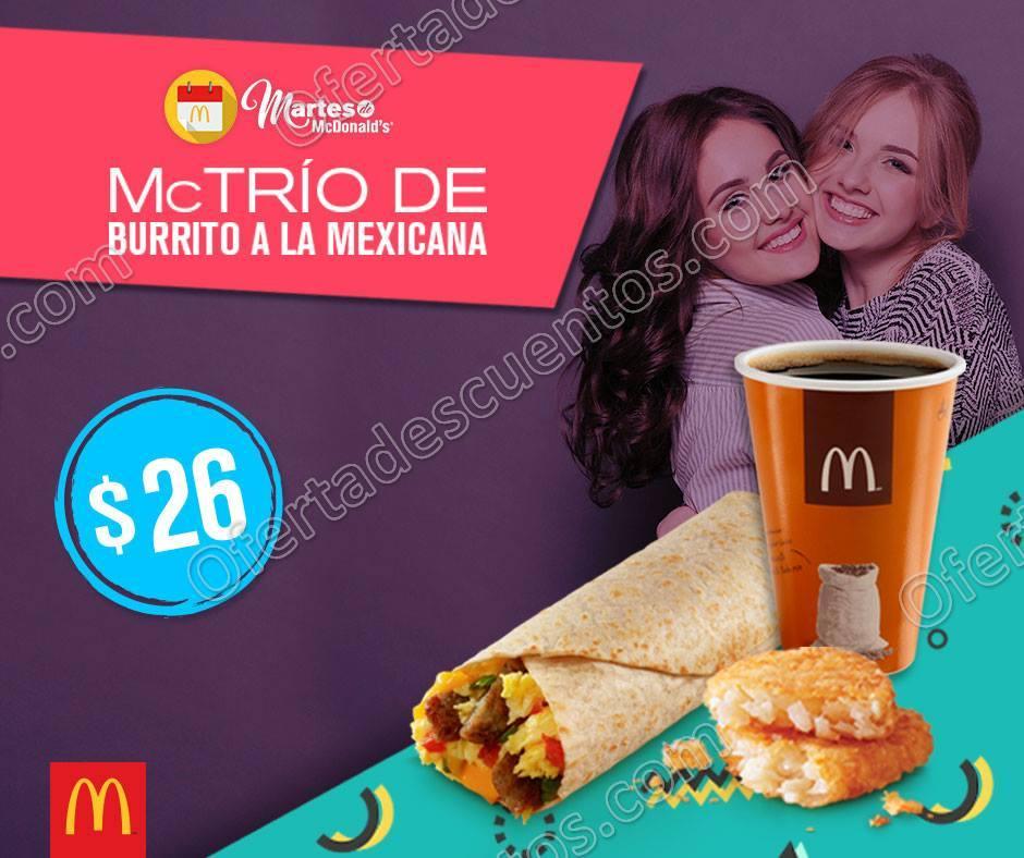 Martes de McDonald's 14 de Noviembre 2017
