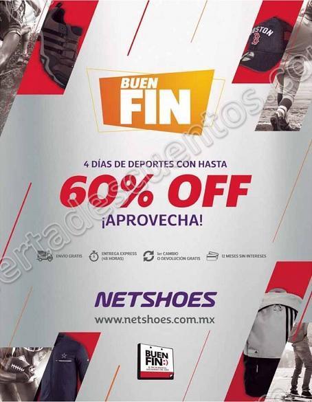 Buen Fin 2017 Netshoes: Hasta 60% de Descuento