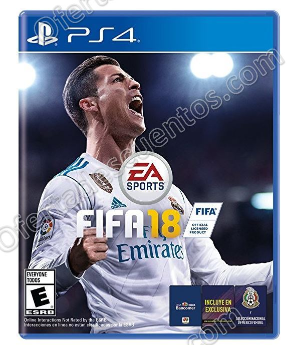 Black Friday 2017 Amazon: Fifa 18 para PS4 $699 y para Xbox One $599 con cupón Visa