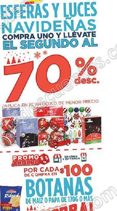 HEB: 70% de Descuento en Esferas y Luces Navideñas Segunda Compra