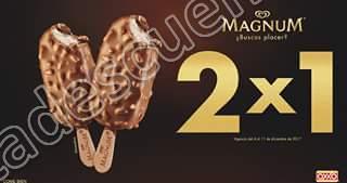 Cupón Oxxo: Paletas Magnum al 2×1 hasta el 11 de Diciembre 2017