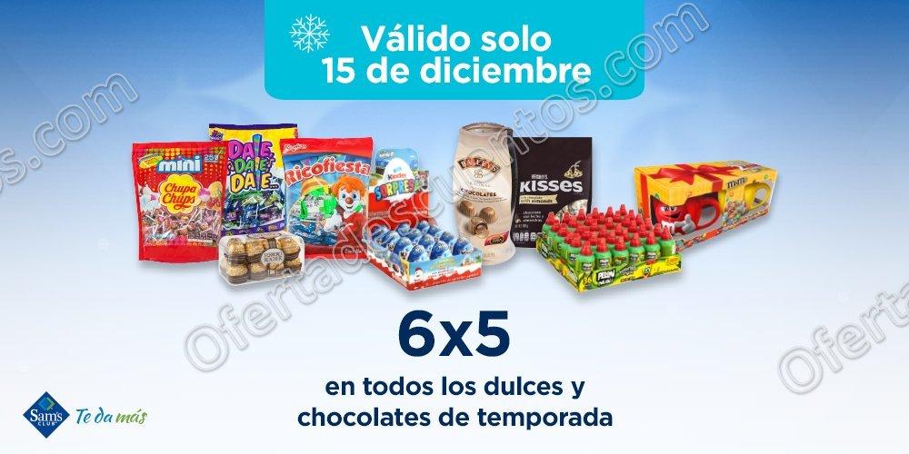 Sam's Club: 6×5 en todos los dulces y chocolates de temporada