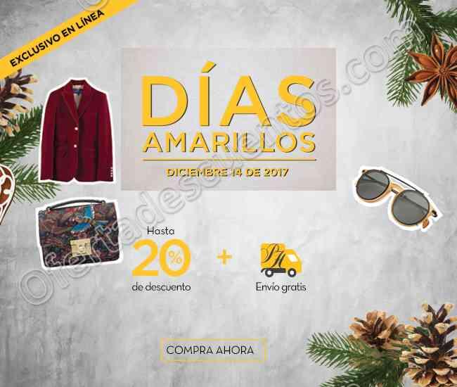 Días Amarillos Palacio de Hierro 14 de Diciembre 2017