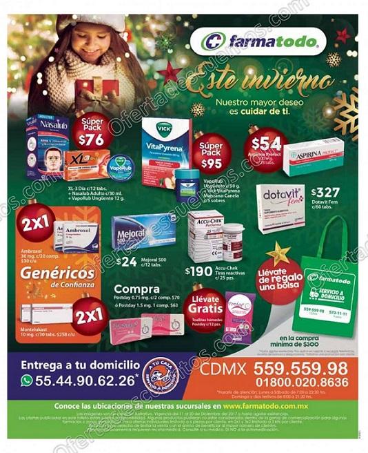 Farmatodo: Promociones de Invierno del 11 al 20 de Diciembre 2017