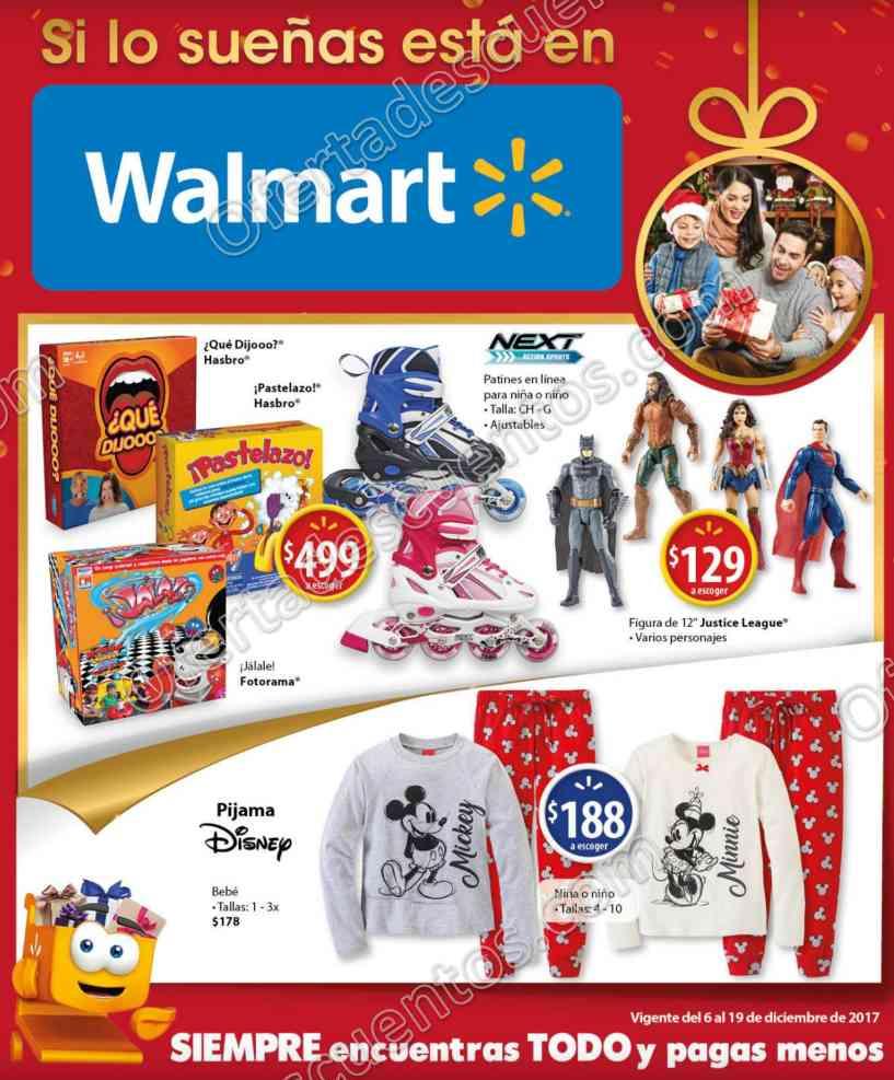 Walmart: Folleto de Ofertas del 6 al 19 de Diciembre 2017