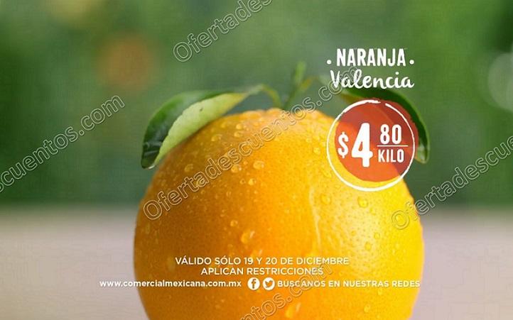 Comercial Mexicana: Frutas y Verduras del Campo 19 y 20 de Diciembre 2017