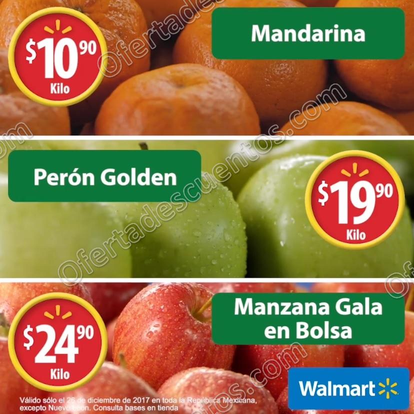 Martes de Frescura Walmart 26 de Diciembre 2017