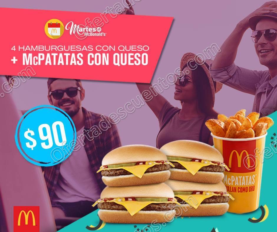Cupones Martes de McDonald's 12 de Diciembre 2017