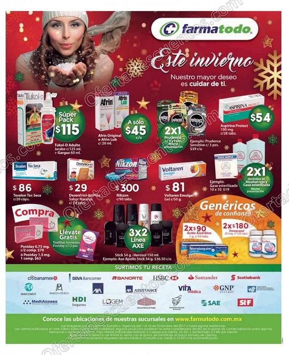 Farmatodo: Promociones de Navidad del 1 al 10 de diciembre 2017