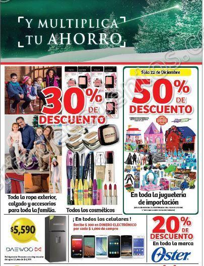 Soriana: Promociones de Fin de Semana del 22 al 25 de Diciembre 2017