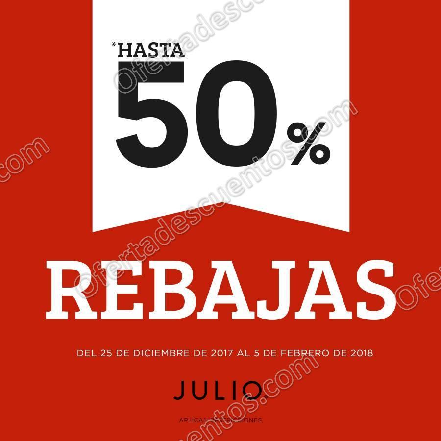 Julio: Rebajas de Temporada Invierno con hasta 50% de descuento