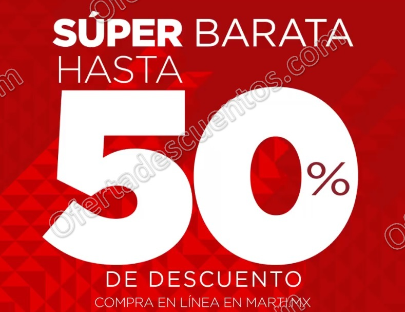 Super Barata Deportiva Martí: Hasta 50% de descuento del 22 de Diciembre 2017 al 5 de Febrero 2018
