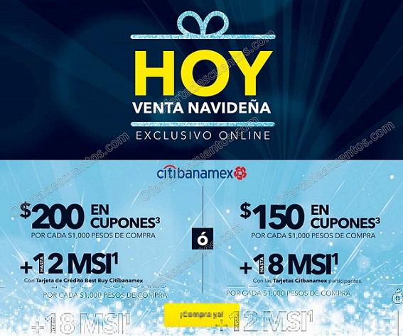 Best Buy Online: Venta Navideña 21 y 22 de Diciembre 2017