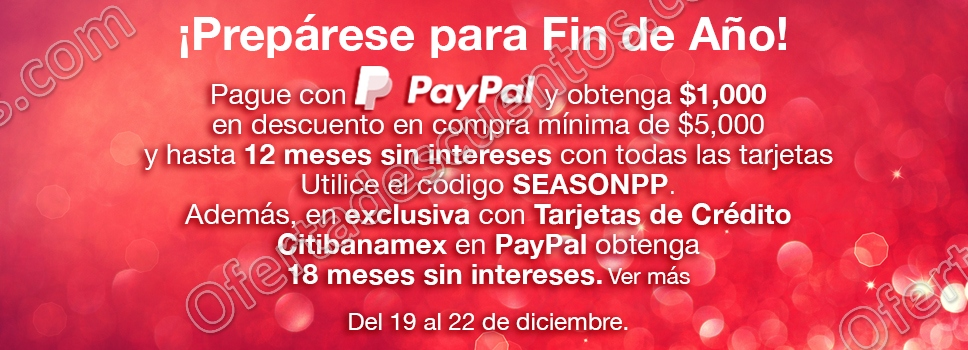 Costco: Cupón $1,000 de Descuento al Comprar $5,000 o Más con PayPal