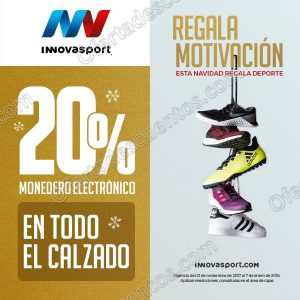 Innovasport: 20% en monedero electrónico en todo el Calzado