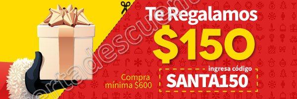 Elektra: Cupón $150 de descuento al 24 de Diciembre 2017