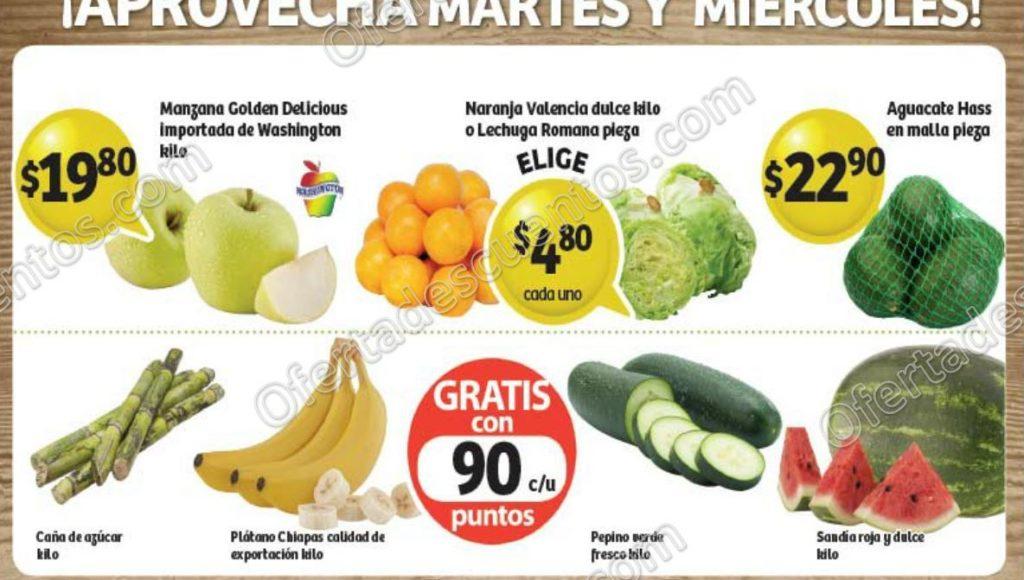 Frutas y Verduras Soriana 19 y 20 de diciembre 2017