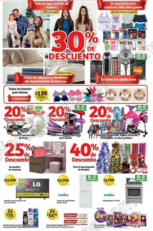 Soriana: Promociones de fin de semana del 8 al 11 de Diciembre 2017