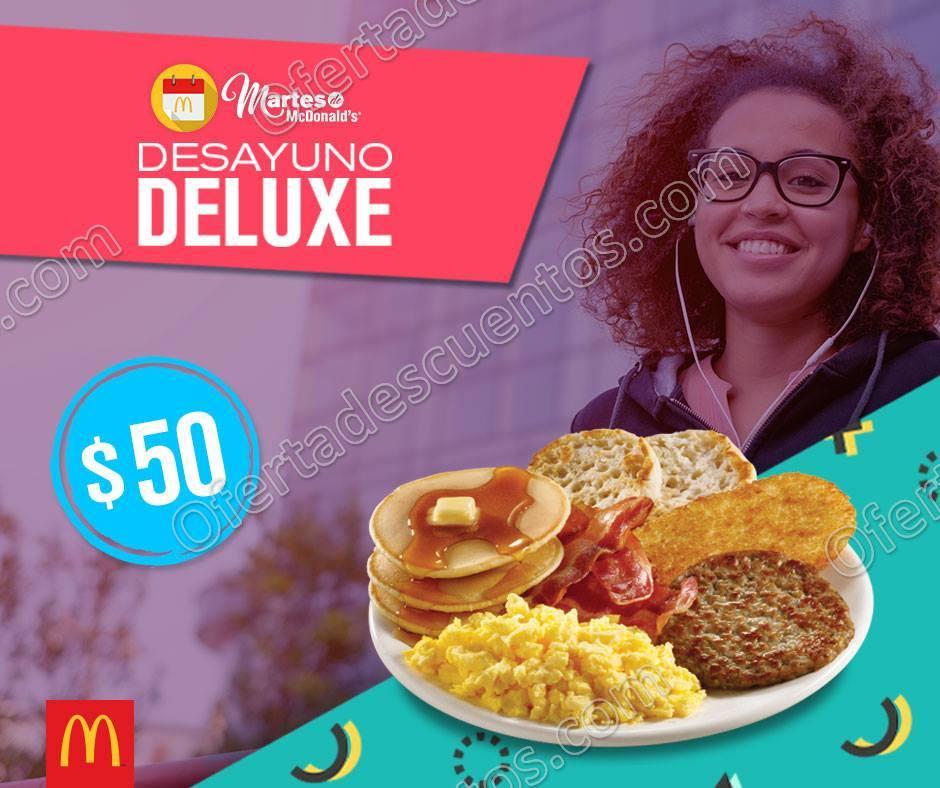 Cupones Martes de McDonald's 23 de Enero 2018