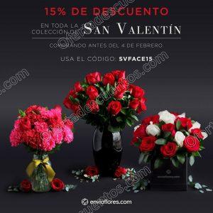 EnvíaFlores: 15% de descuento en toda la colección de San Valentín