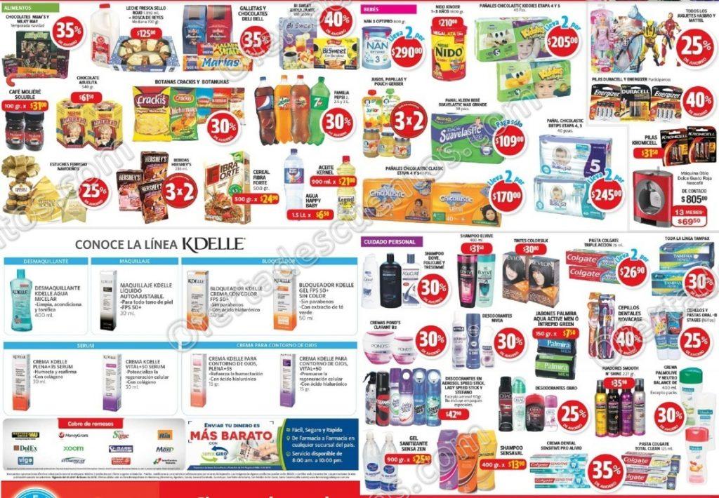 Promociones de Fin de Semana Farmacias Guadalajara del 5 al 7 de Enero 2018