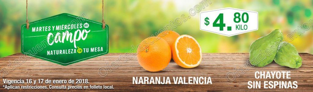 Comercial Mexicana: Frutas y Verduras del Campo 16 y 17 de Enero 2018