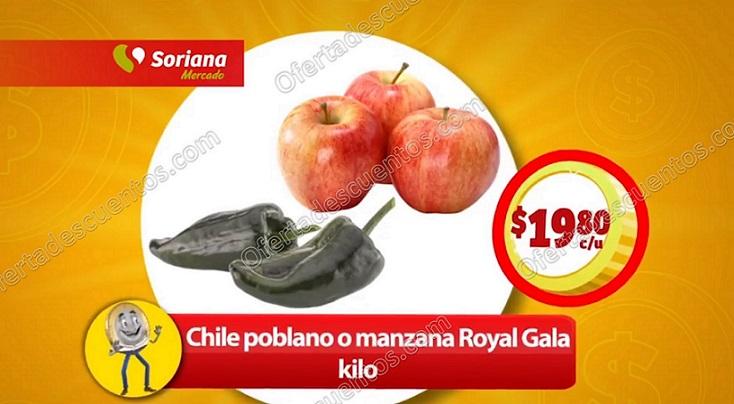 Soriana Mercado: Frutas y Verduras 24 y 25 de enero 2018