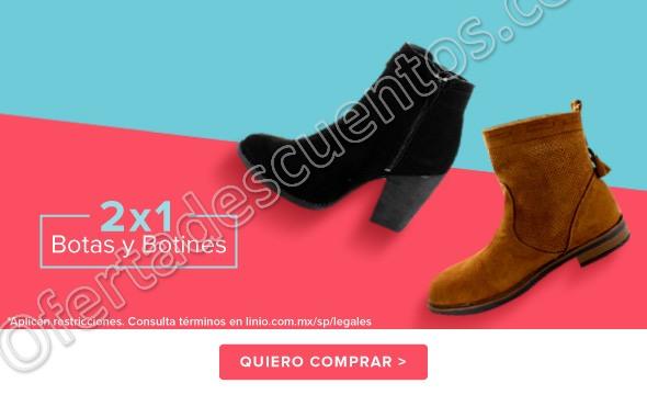 Linio: 2×1 en botas y botines del 22 al 28 de Enero 2018