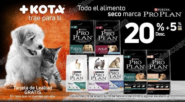 MasKota: 20% de descuento en alimento seco Purina Pro Plan