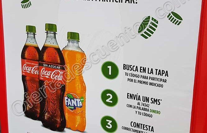 Promoción Tapas Verdes Coca Cola 2018: Gana hasta $8,000 en efectivo y Tiempo Aire