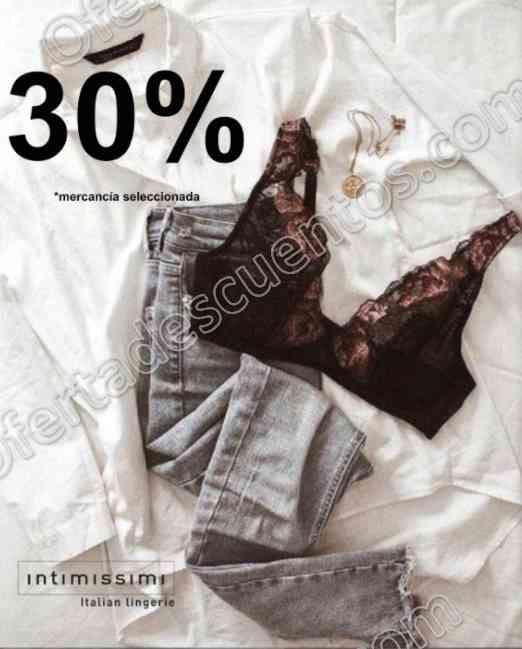 Intimissimi: 30% de descuento en mercancía seleccionada