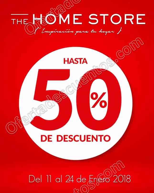 The Home Store: Rebajas con hasta 50% de descuento del 11 al 24 de Enero 2018