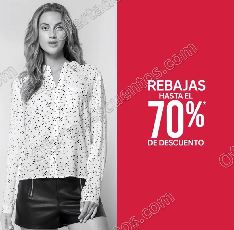 C&A: Rabajas Hasta 70% de descuento más 20% adicional en Playeras, Camisas y Blusas