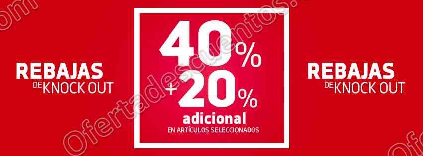 Dportenis: Rebajas del 40% de descuento más 20% adicional en productos seleccionados