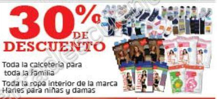 Soriana: 30% de Descuento en Toda la Calcetería