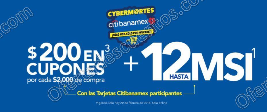Best Buy: Cyber Martes con Citibanamex $200 en cupones por cada $2,000 de compra