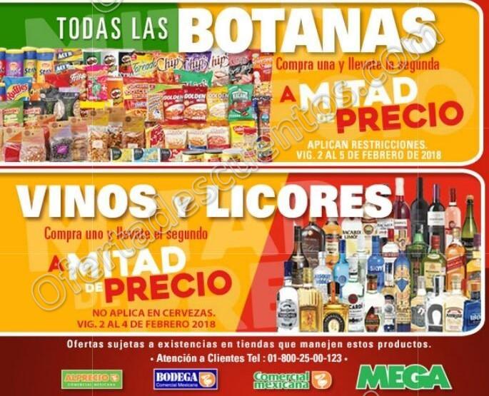 Comercial Mexicana: Promociones de fin de semana del 2 al 5 de Febrero 2018