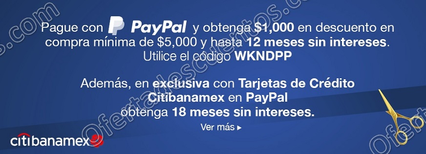 Costco: Recibe $1,000 de descuento al comprar $5,000 o más pagando con PayPal