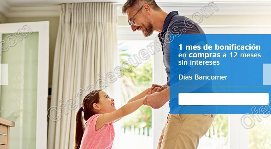 Días Bancomer 2018: 1 mes de bonificación más 12 meses sin intereses del 9 al 11 de Febrero